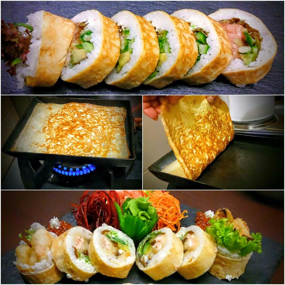 tamago sushi pruszków tsuri sushi