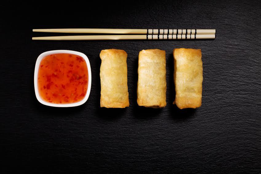 Kuchania Tajska Przystawki Restauracja Tsuri Sushi Pruszkow