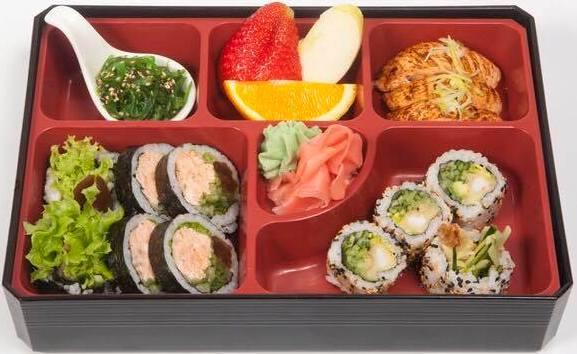 lunch box tsuri sushi warszawa